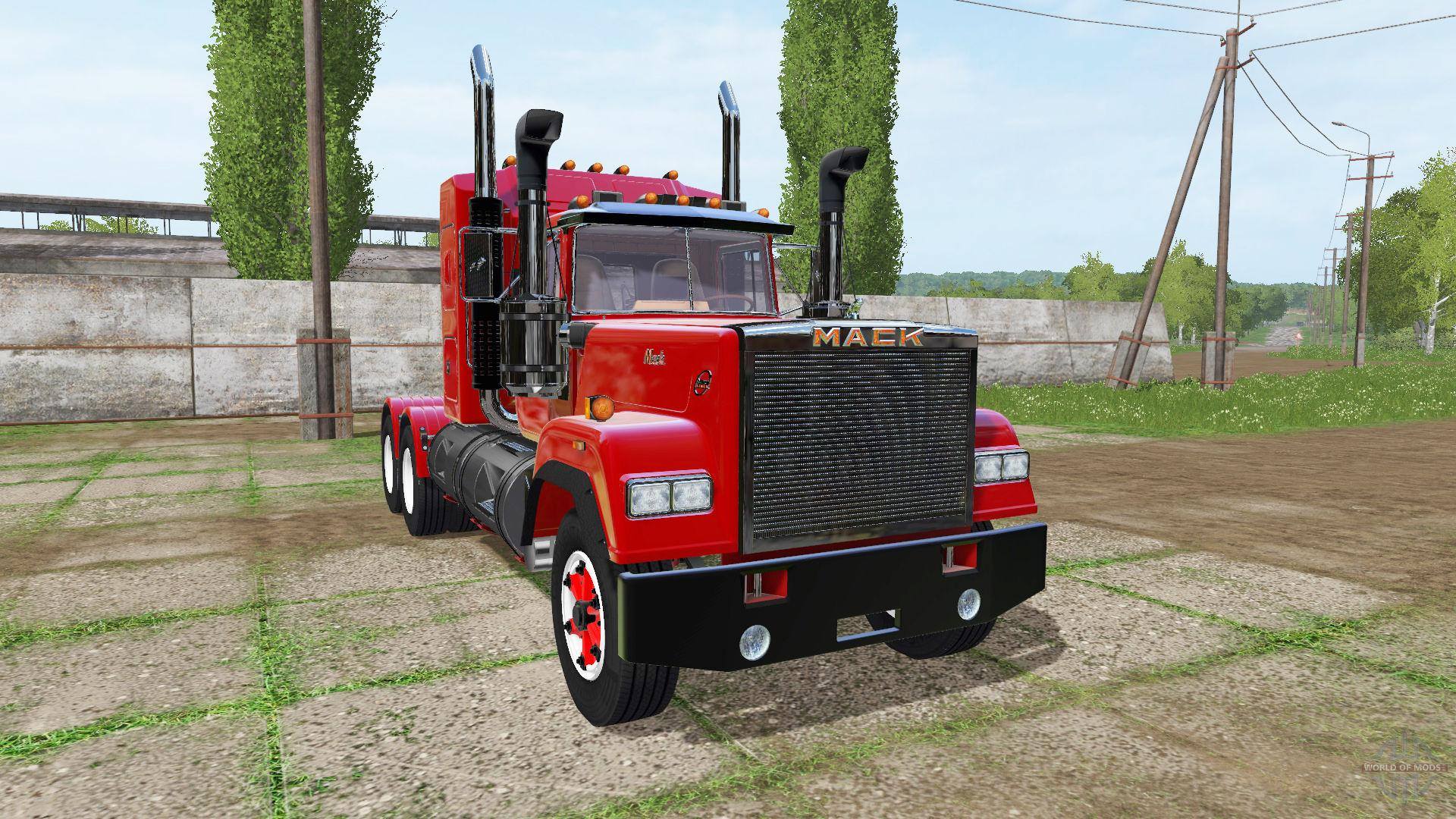 MACK SUPER-LINER FS17 - Farming Simulator 17 mod / FS 2017 mod