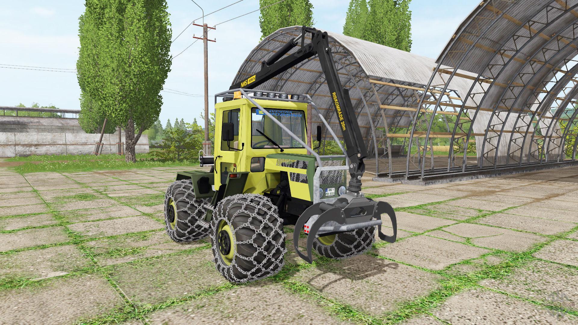 MERCEDES-BENZ TRAC 800 FS17 - Farming Simulator 17 mod / FS 2017 mod