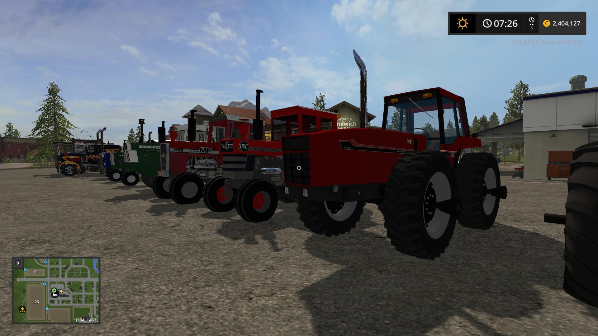 OLDIRON PACK V1 0 0 FS17 - Farming Simulator 17 mod / FS 2017 mod