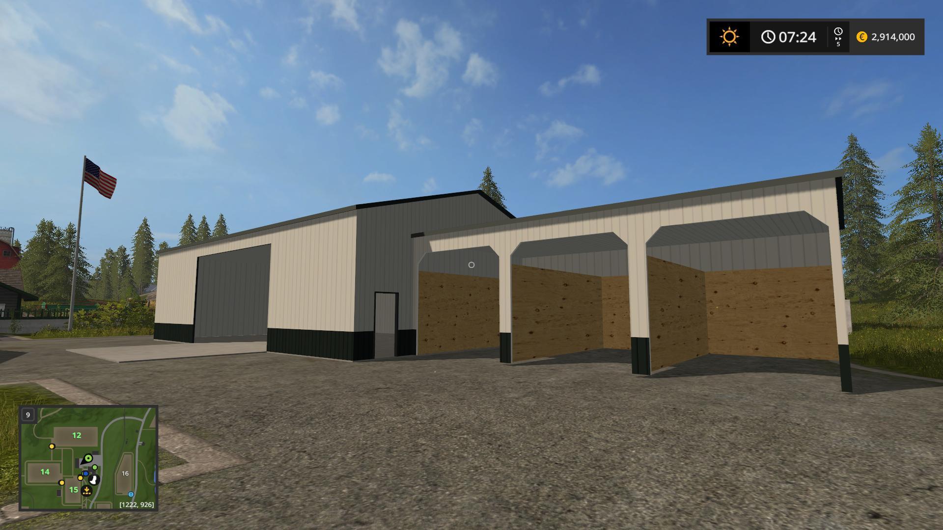 Placeable Morton Buildings V1 0 Fs17 Farming Simulator