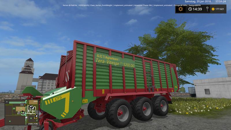 Strautmann Tera Vitesse 5201 DO V 1 0 FS17 - Farming