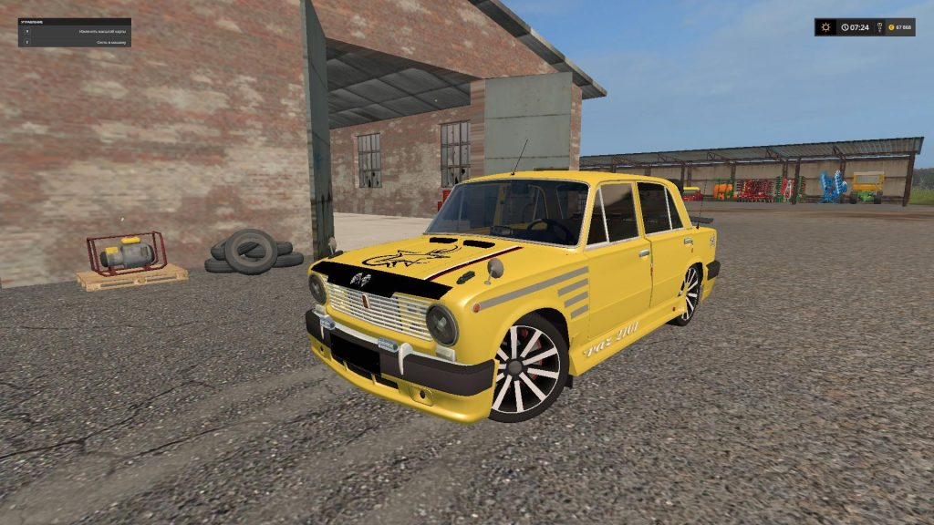 vaz 2101 tuning fs17 farming simulator 17 mod fs 2017 mod. Black Bedroom Furniture Sets. Home Design Ideas
