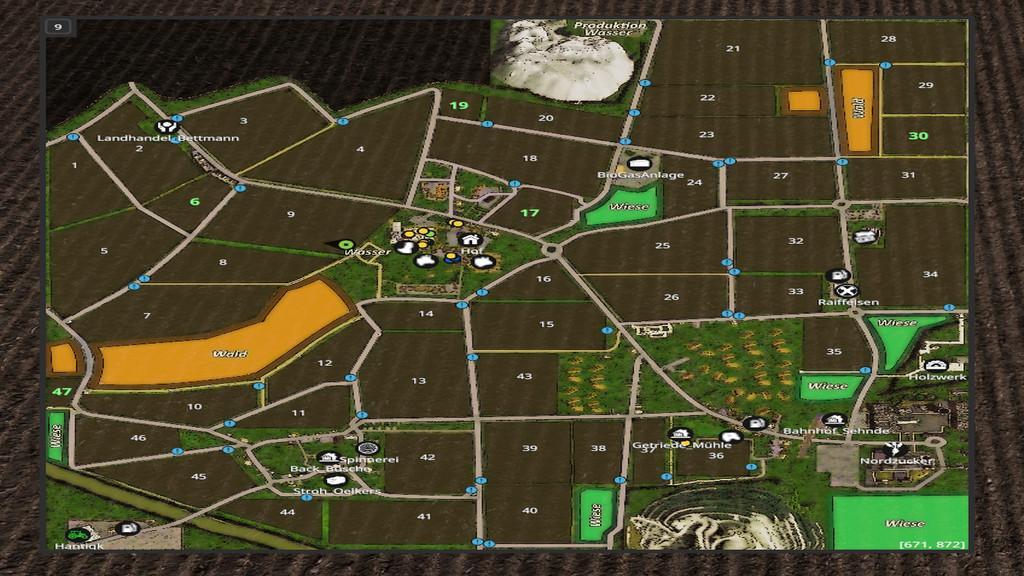 WEL MAP V1.0.0.0 FS17 - Farming Simulator 17 mod / FS ... Map Mod on