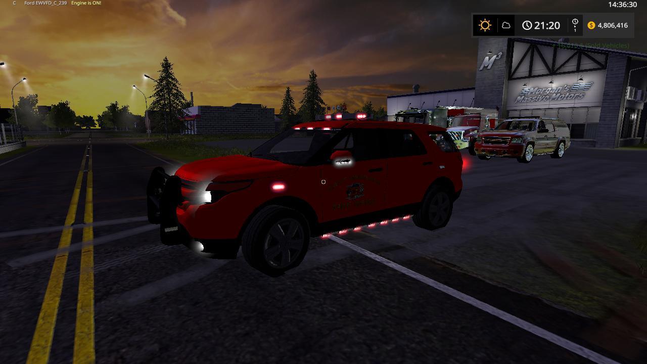 Fire trucks idk v1 0 FS17 - Farming Simulator 17 mod / FS 2017 mod