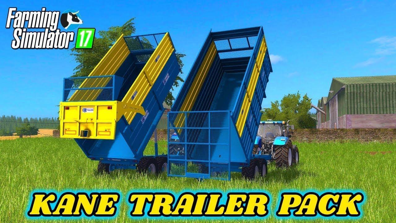 Kane trailer pack v1 0 0 0 FS17 - Farming Simulator 17 mod / FS 2017 mod