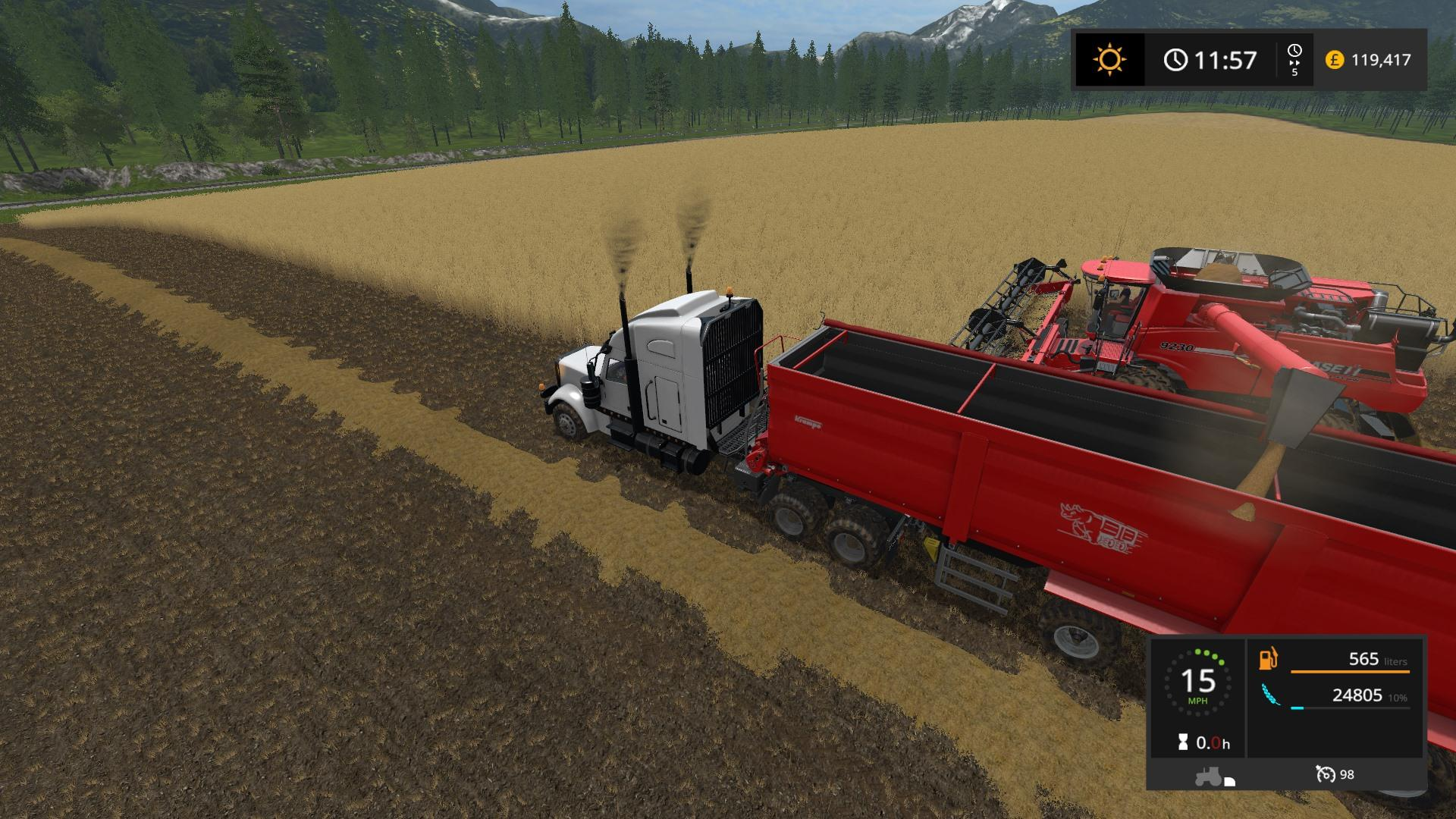 CHERRY HILLS SEASONS FOR ALAN JONES 4X MAP UPDATE FS17 - Farming