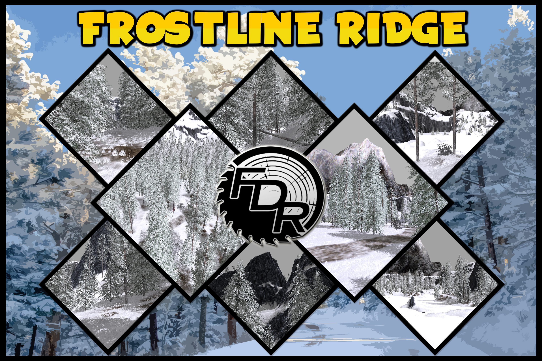 FDR Logging – Frostline Ridge Logging Map FS17 - Farming Simulator ...