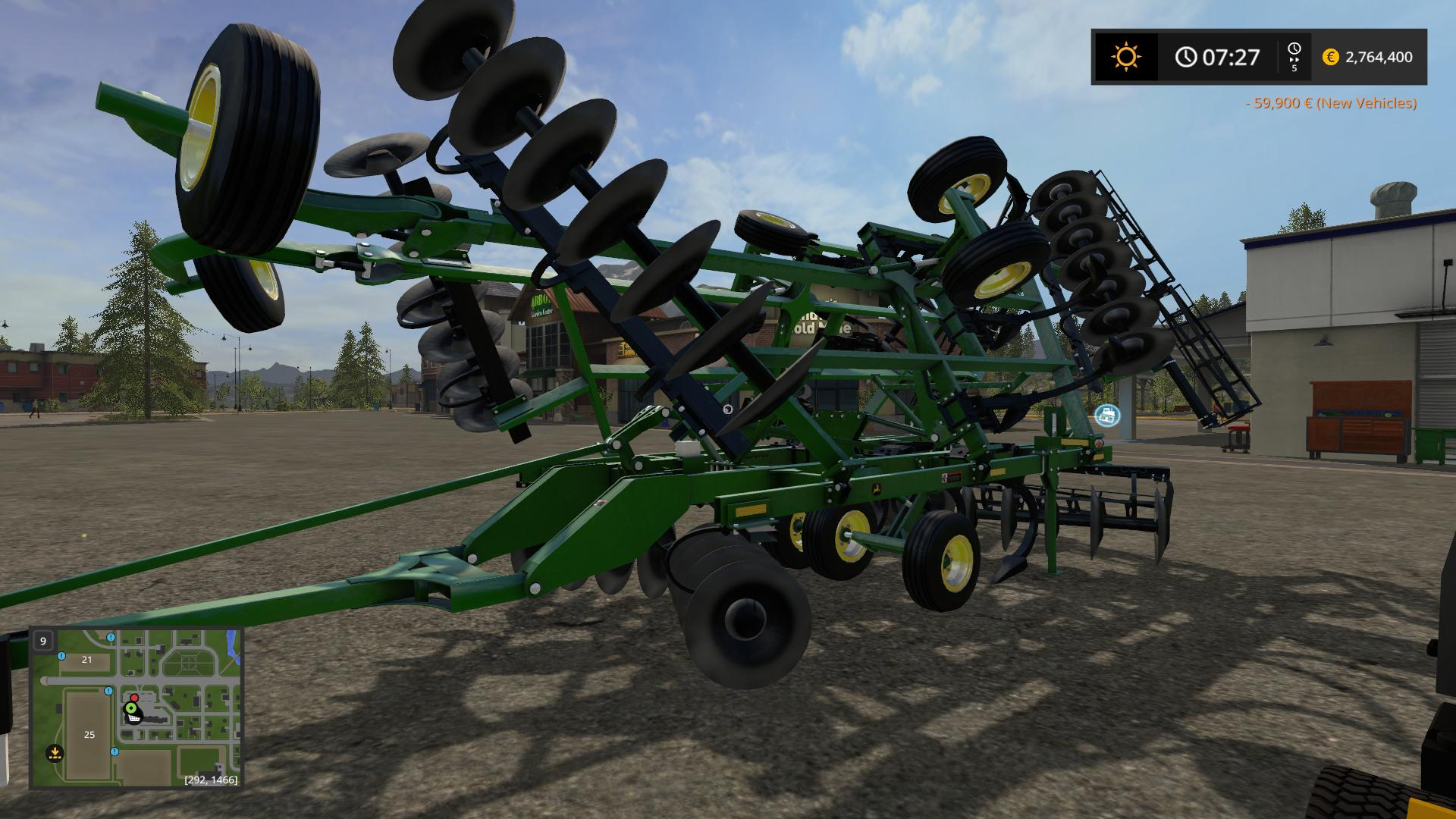 John Deere tools pack v1 0 FS17 - Farming Simulator 17 mod / FS 2017 mod
