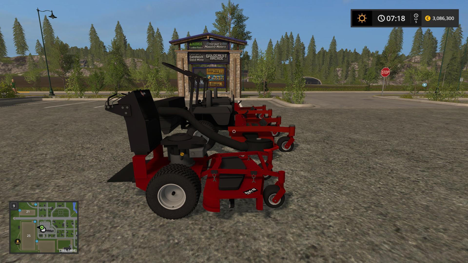 Mower Pack With New Zero Turn v1.0 FS17 - Farming Simulator 17 mod ...
