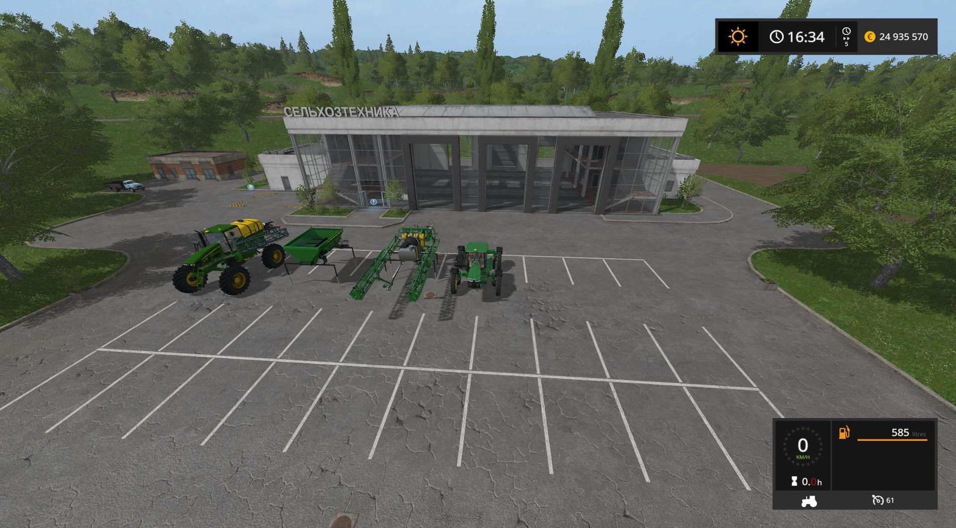 Pack outils John Deere v1 0 FS17 - Farming Simulator 17 mod / FS