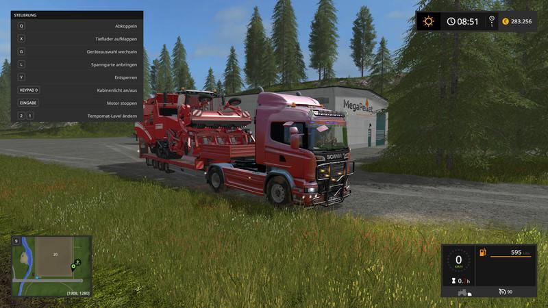 Scania R730 Dynamic Hose v1 0 0 2 FS17 - Farming Simulator