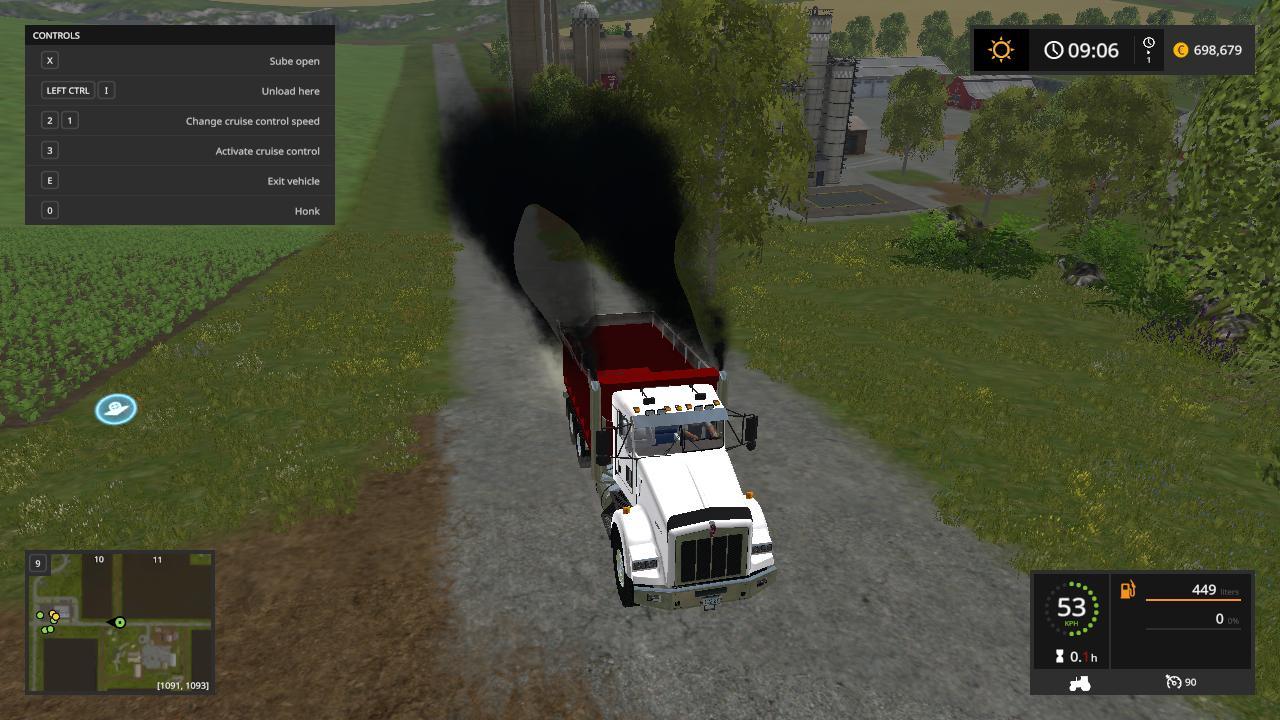 Kenworth dump truck v1.0.0.0 FS17 - Farming Simulator 17 ...Kenworth Dump Trucks Fs19