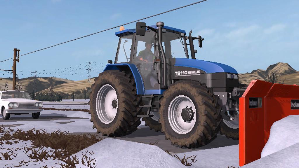 New Holland TS Series v1 1 0 0 FS17 - Farming Simulator 17