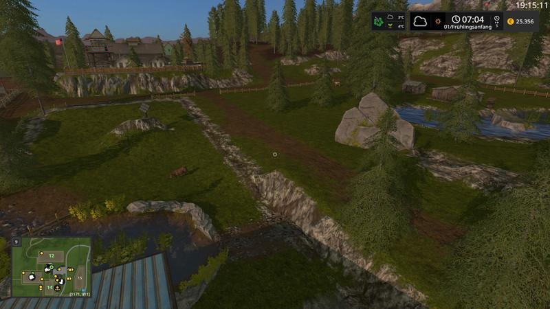 Felsentahl Map v2 3 FS17 - Farming Simulator 17 mod / FS