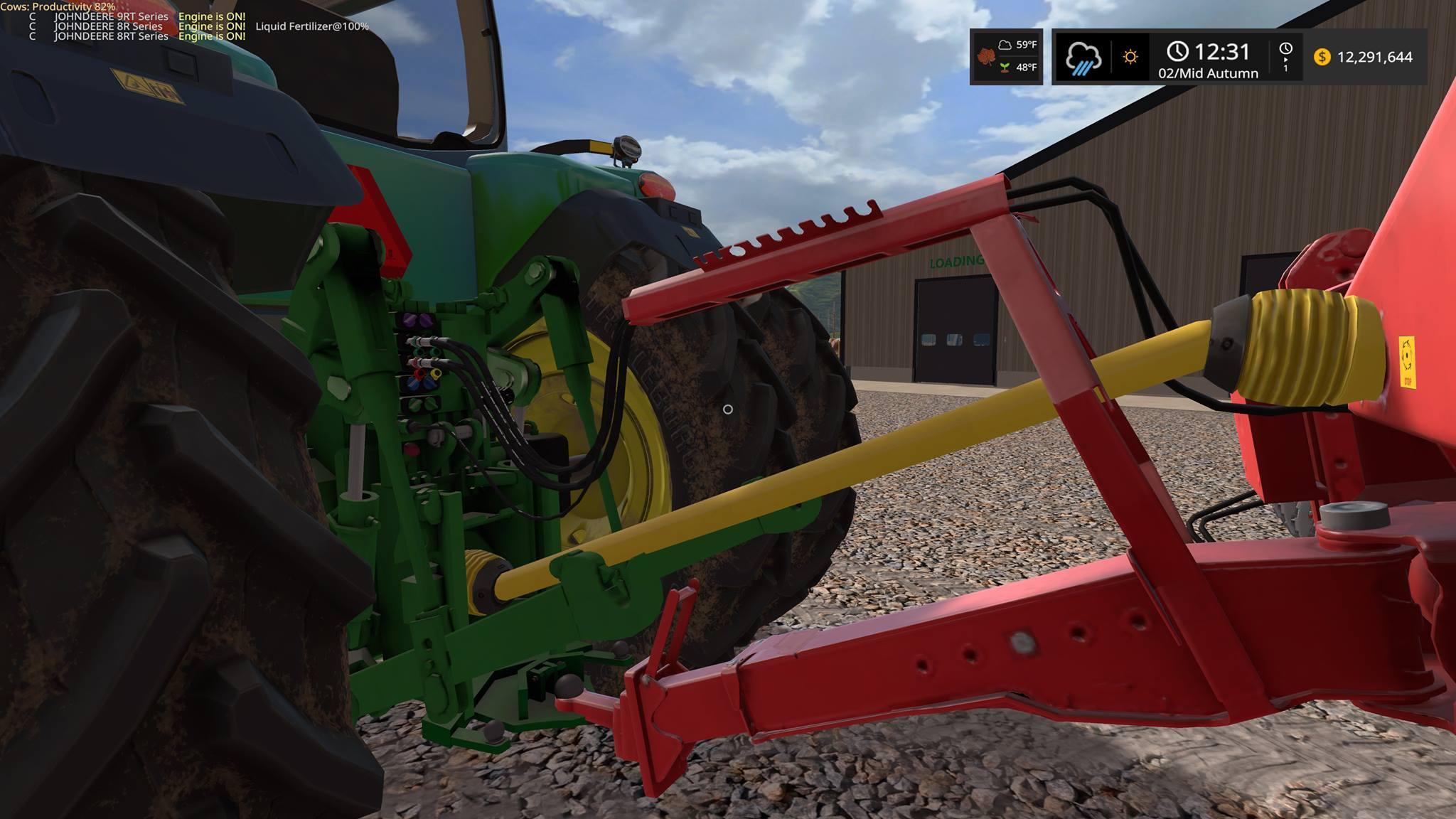 Grimme 18 row Sugar beet harvester v1 FS17 - Farming