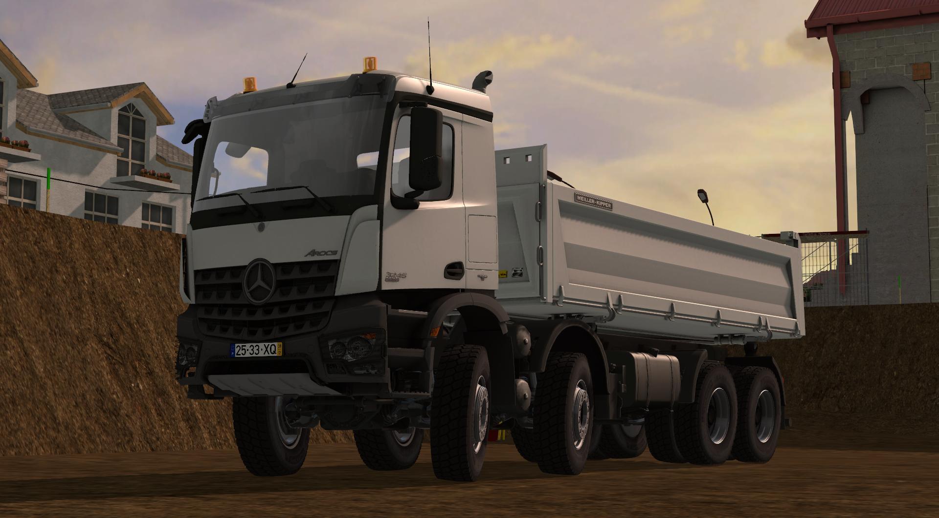Mercedes Arocs 3245 v1 0 0 0 FS17