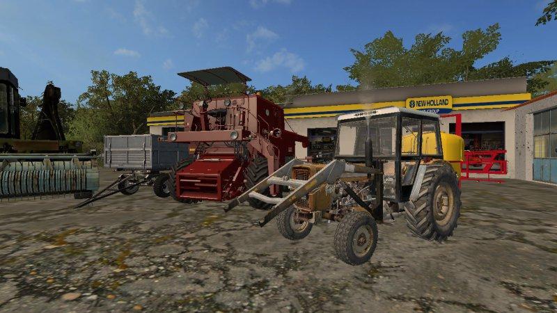 Modpack for Polish villages v1 0 FS17 - Farming Simulator 17 mod