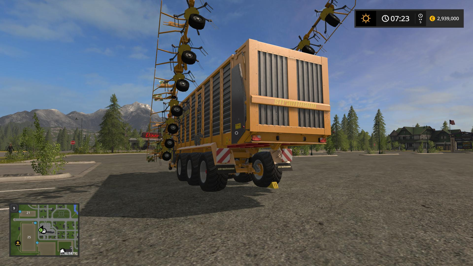 Tera Vitesse CFS 5201 DO v1 0 FS17 - Farming Simulator 17