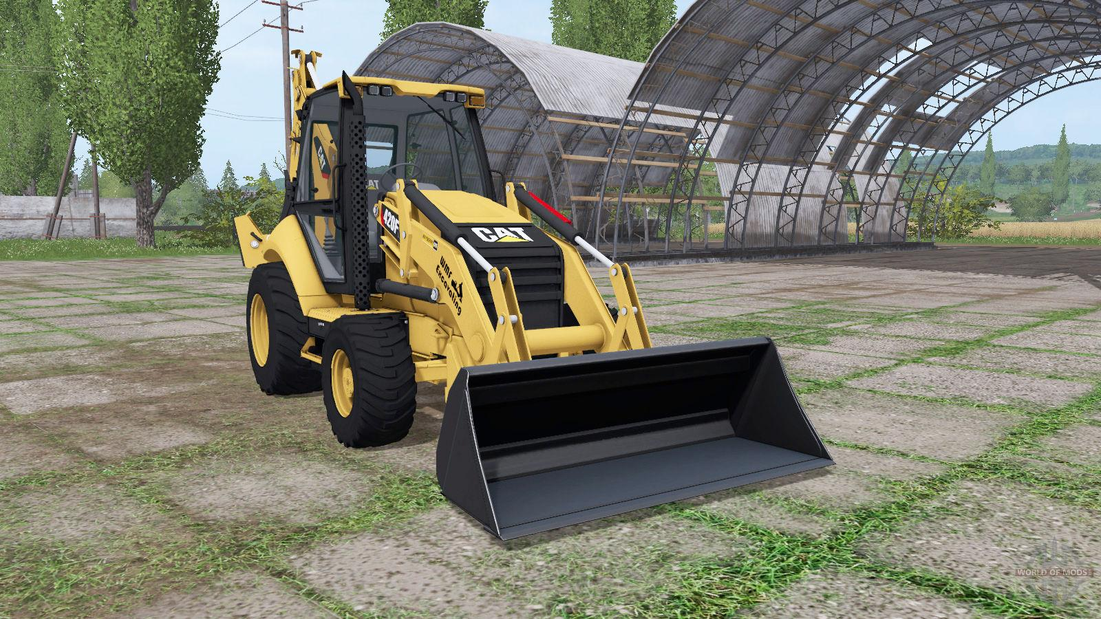 Caterpillar 420f V1 0 Fs17 Farming Simulator 17 Mod Fs