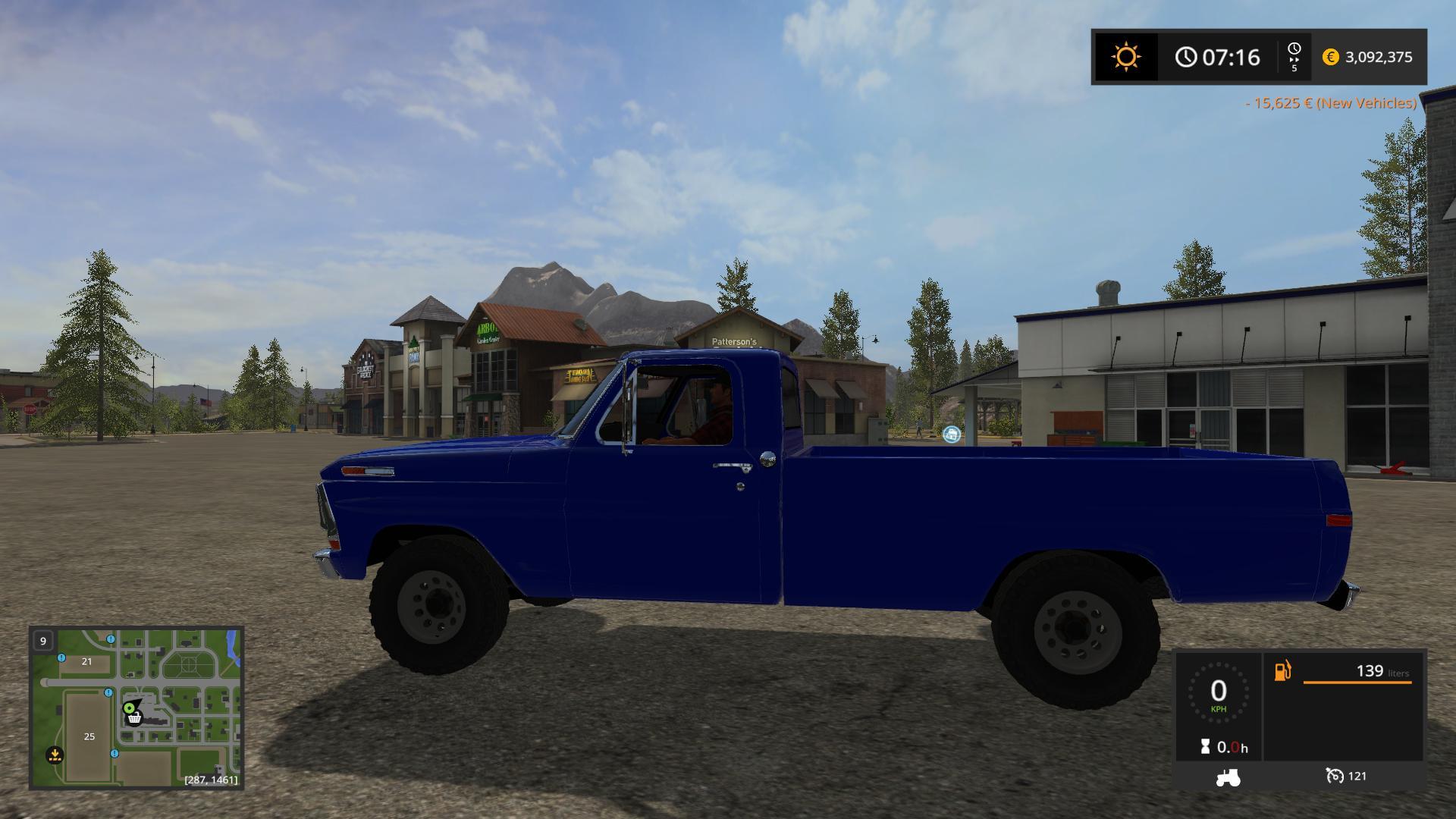 Ford F100 1970 V10 Fs17 Farming Simulator 17 Mod Fs 2017 Pickup Truck