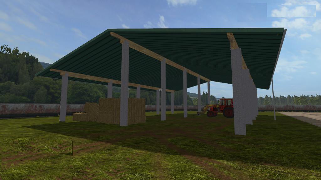 Straw Storage v1 0 0 0 FS17 - Farming Simulator 17 mod / FS