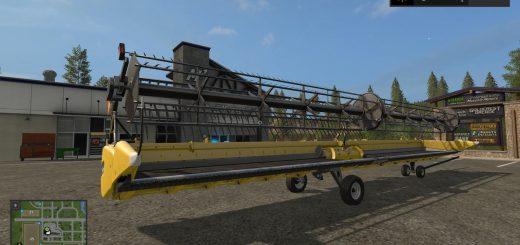 HUGE NEW HOLLAND HEADER V1 0 FS 17 - Farming Simulator 17 mod / FS