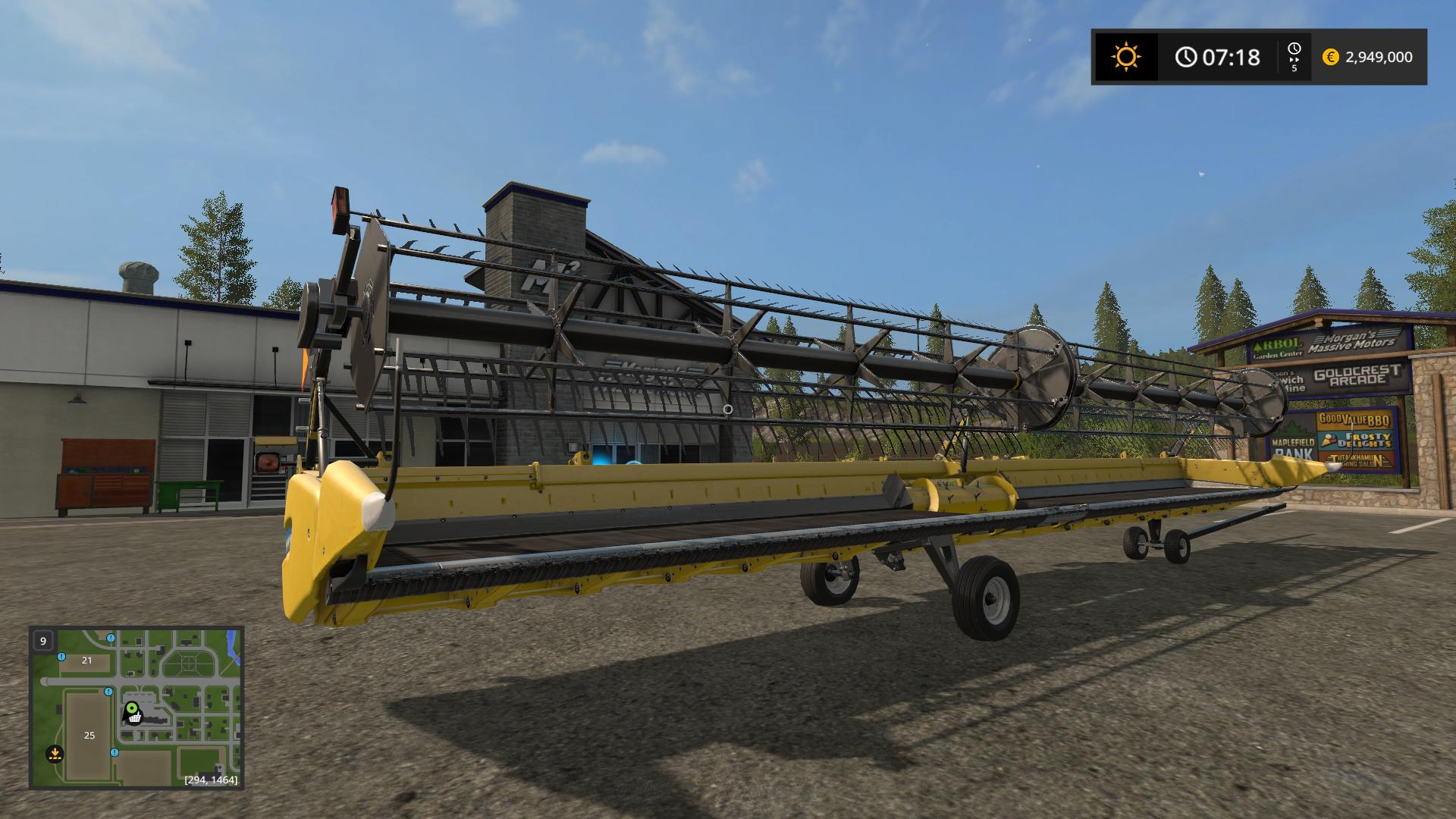 SuperFlex Draper 45FT v1 0 FS17 - Farming Simulator 17 mod