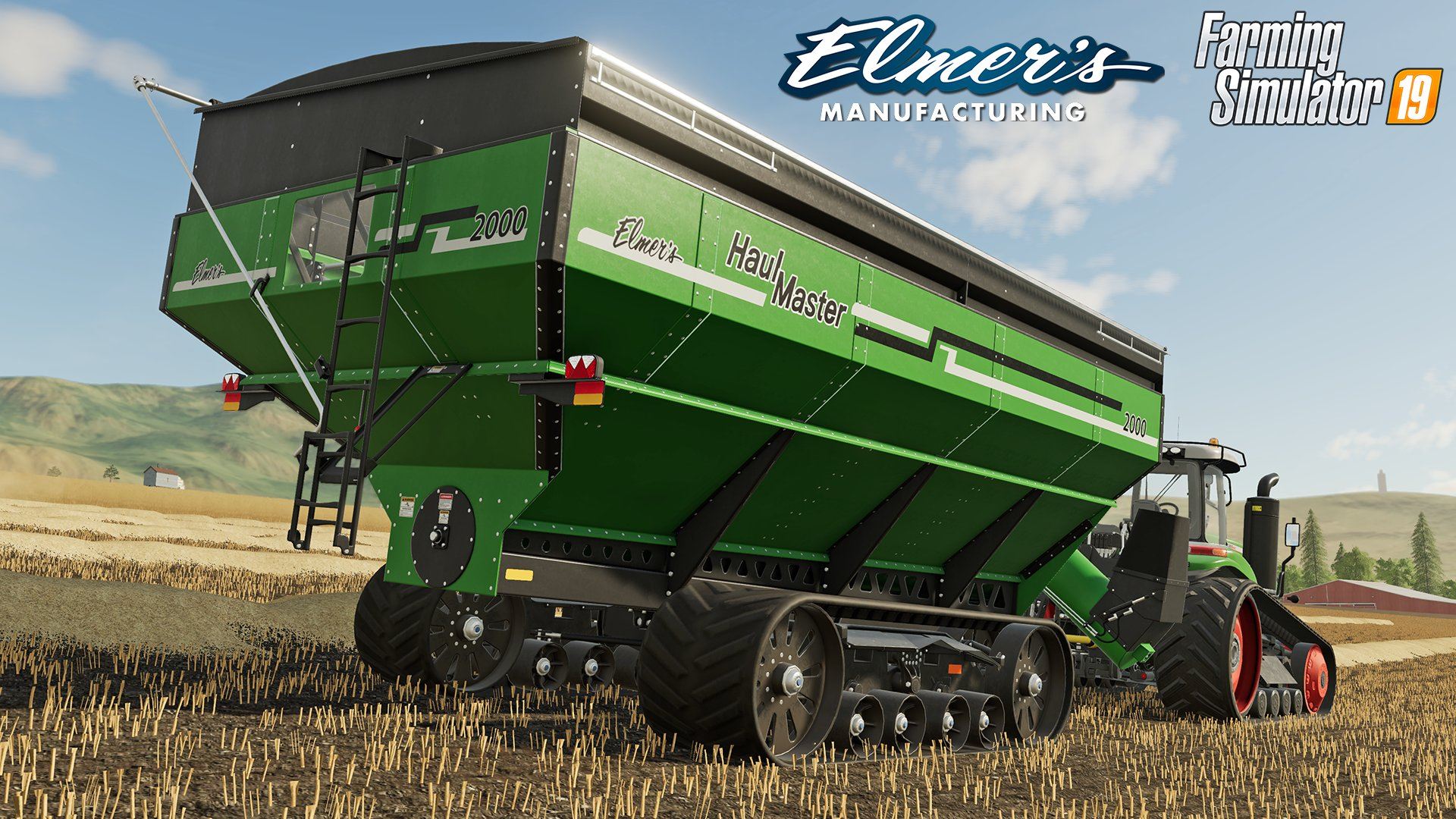 Farming Simulator 19 will have The Elmer's Manufacturing Haulmaster