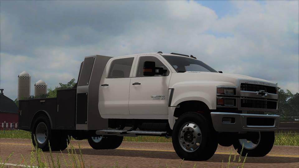 2018 Chevy Silverado >> Chevy 4500 v1.0 FS17 - Farming Simulator 17 mod / FS 2017 mod