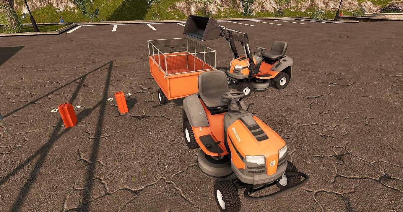 Husqvarna Rasentraktor Pack V1 0 Fs17 Farming Simulator