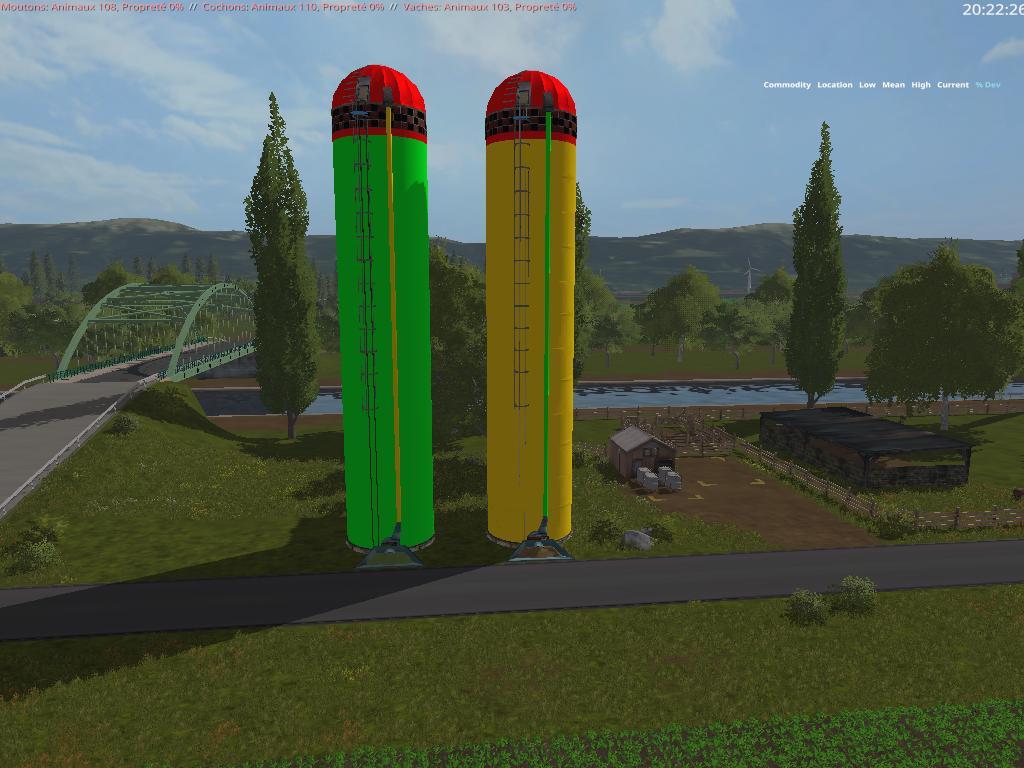 Pellet Fermenting silos v2 5 0 0 FS17 - Farming Simulator 17 mod