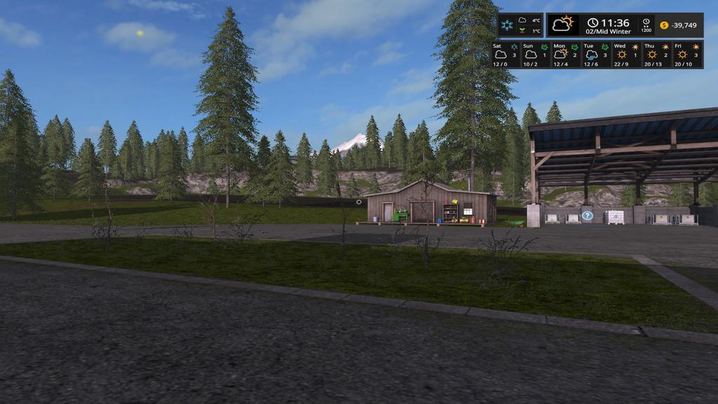 Seasons GEO: Newent U K  v1 0 0 0 FS17 - Farming Simulator 17 mod