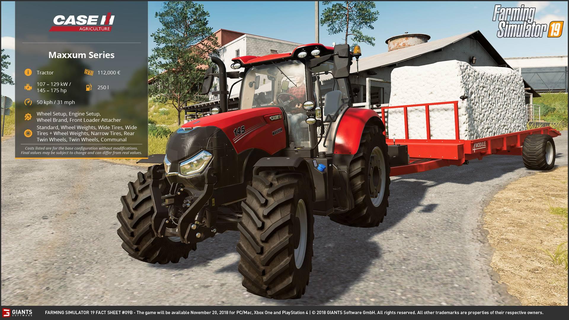 Case Vehicles in Farming Simulator 2019 - Farming Simulator