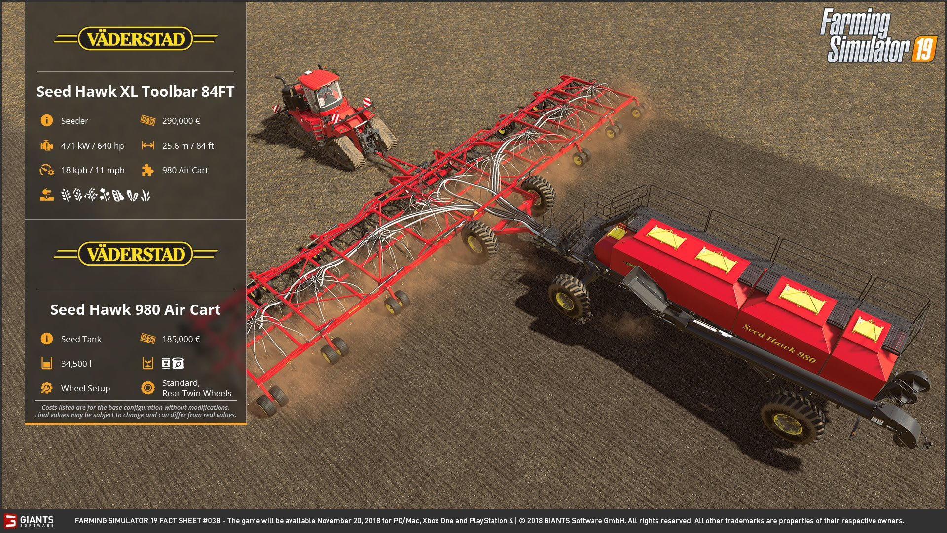 Farming Simulator 2019 with new vehicles brands - Farming