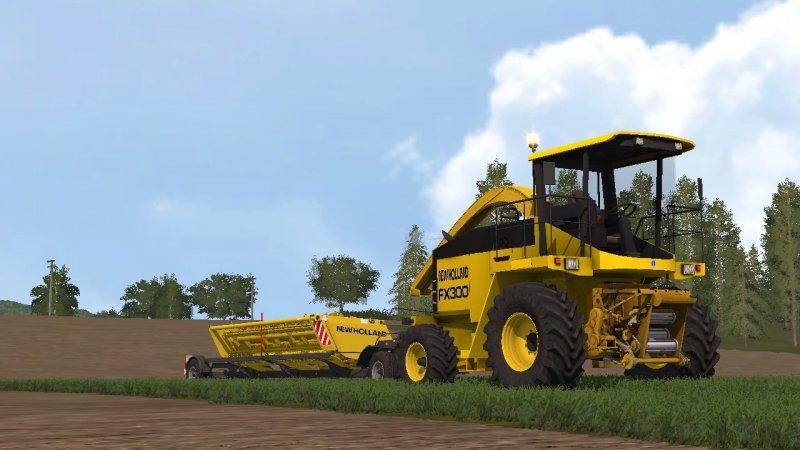 New Holland FX series v1 0 FS17 - Farming Simulator 17 mod / FS 2017 mod