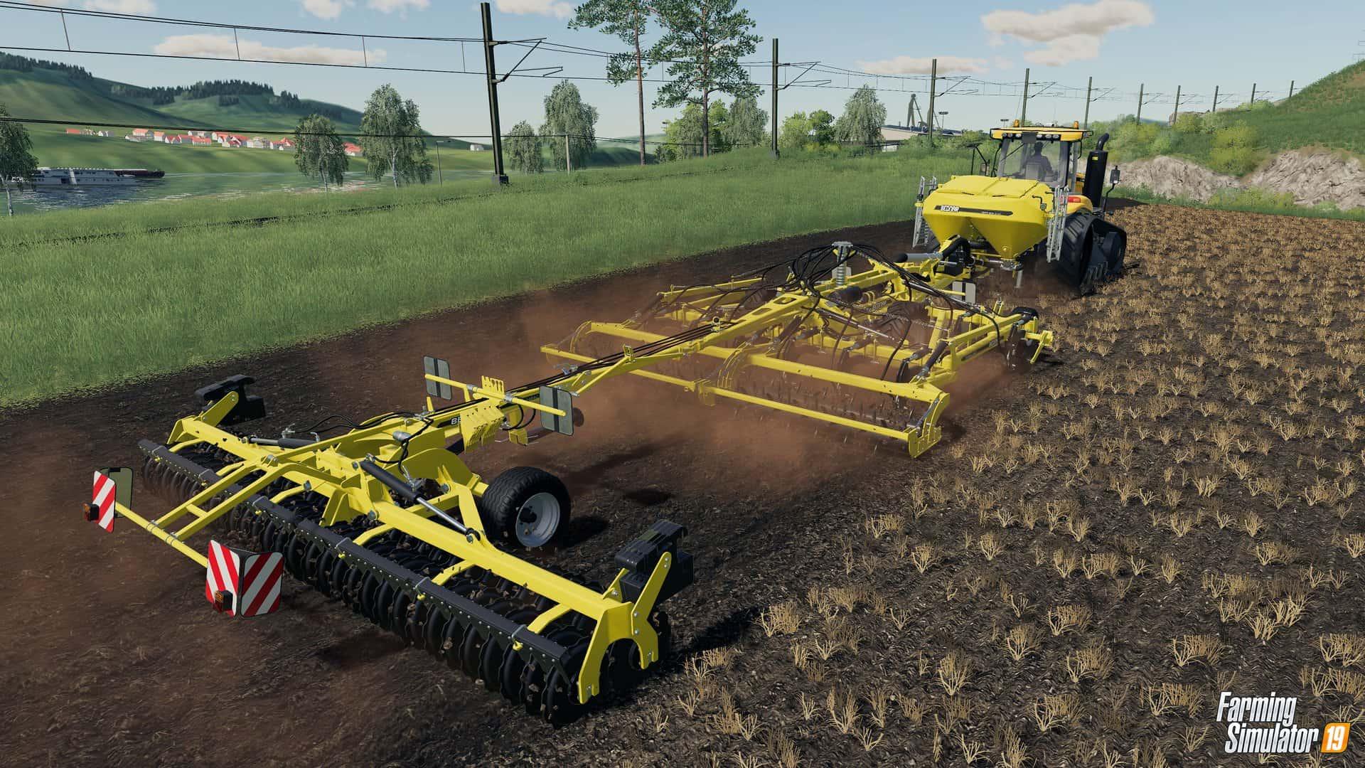 моди до farming simulator 2019