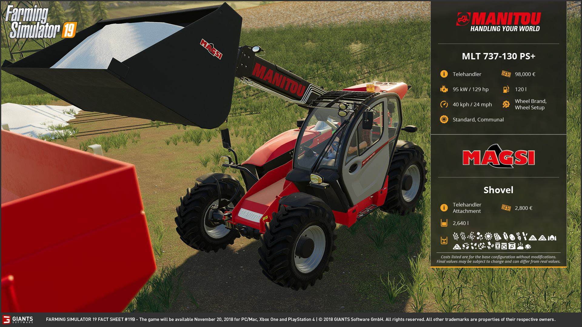 Farming Simulator 19 - JCB, Case, New Holland and More