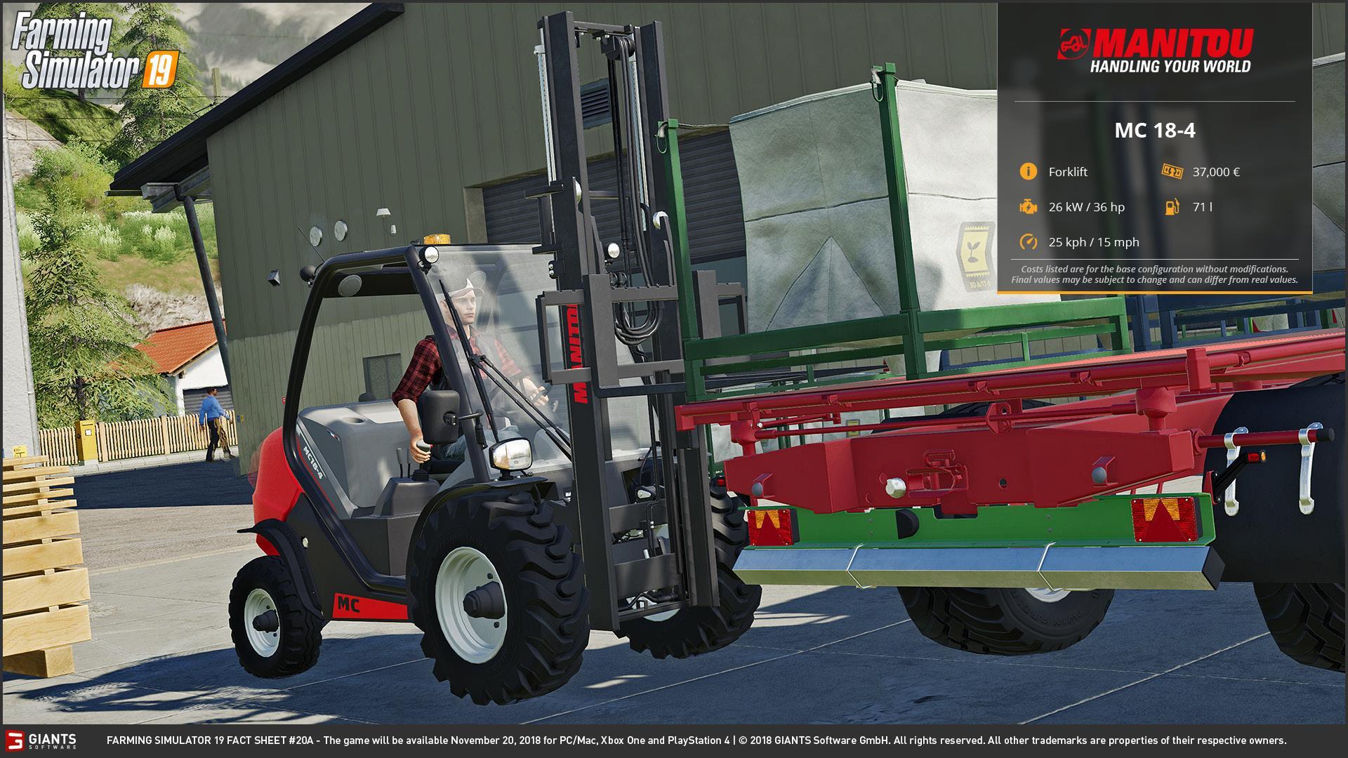 Farming Simulator 19 - JCB, Case, New Holland and More! - Farming