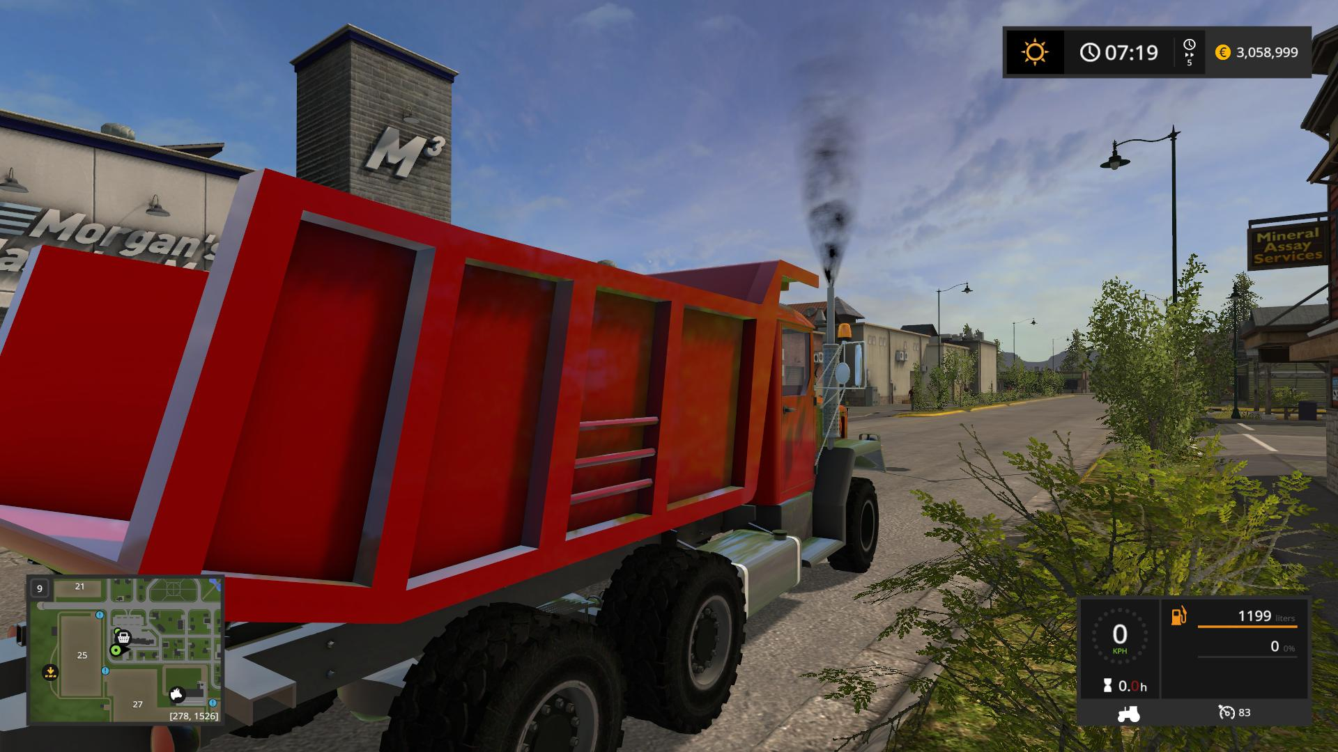 Big Dump Trucks >> Big red dump truck v2.0 FS17 - Farming Simulator 17 mod ...