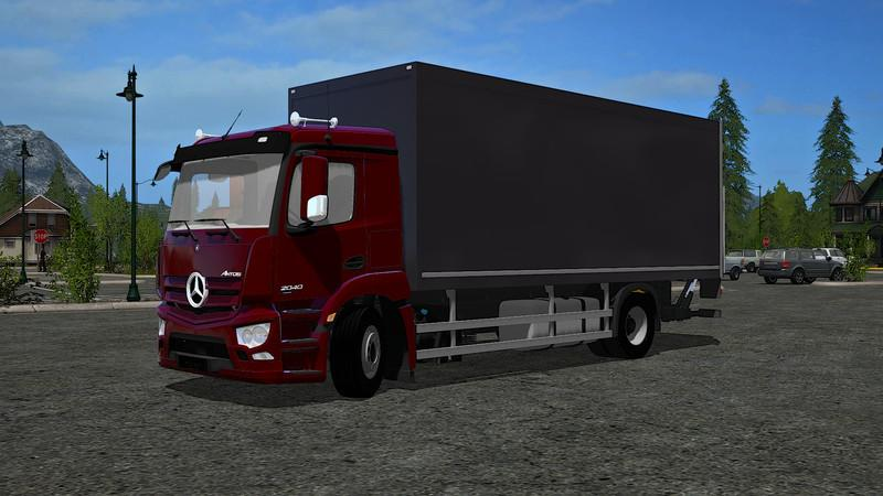 Mercedes Benz Antos 2040 Case With Accessories V1 0 Fs17