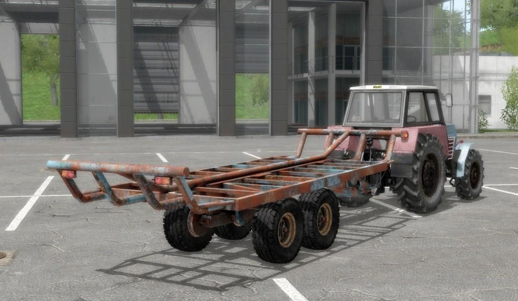 T088 Bale trailer (Autoload) FS17 - Farming Simulator 17 mod