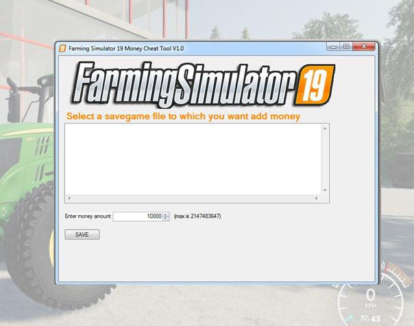 FS 19 - Money Cheat Tool V1 0 - Farming Simulator 17 mod / FS 2017 mod