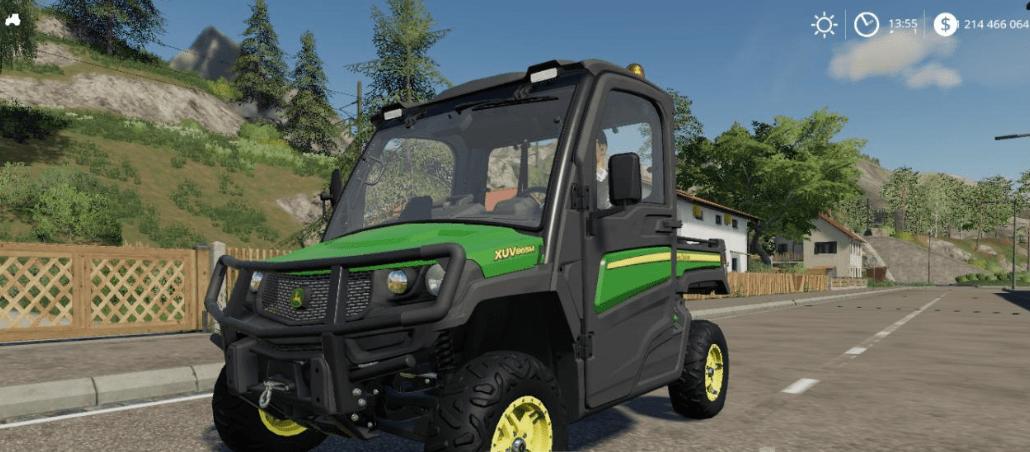 FS19 John Deere XUV865M v1 0 - Farming Simulator 17 mod / FS