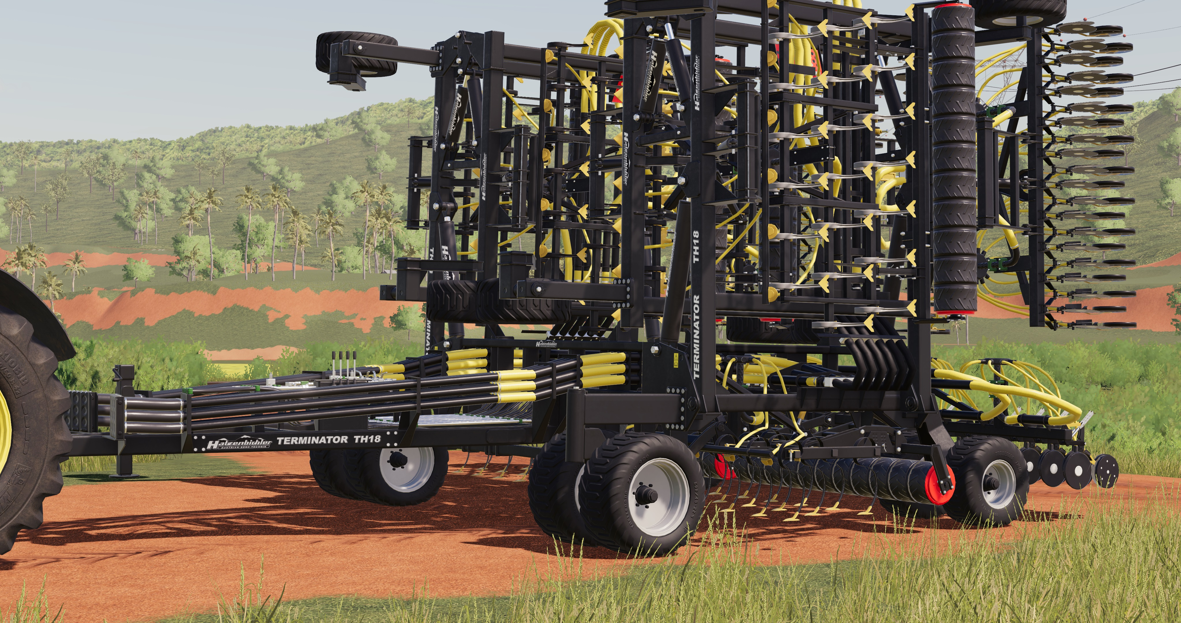 FS19 TERMINATOR TH 18 V1 0 0 0 - Farming Simulator 17 mod