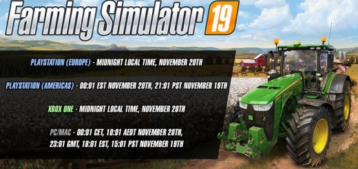 Farming Simulator 19 - JCB, Case, New Holland and More