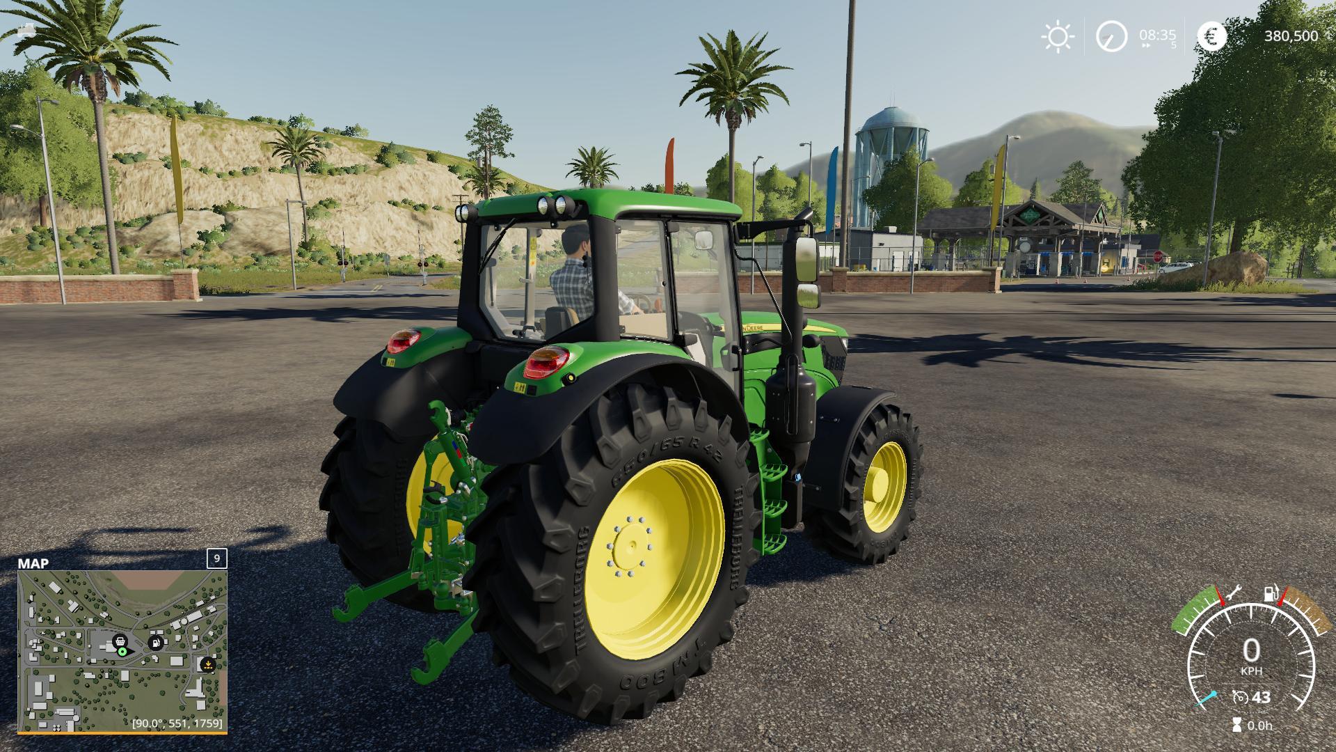 John Deere 6M v1 0 0 FS 19 - Farming Simulator 17 mod / FS 2017 mod