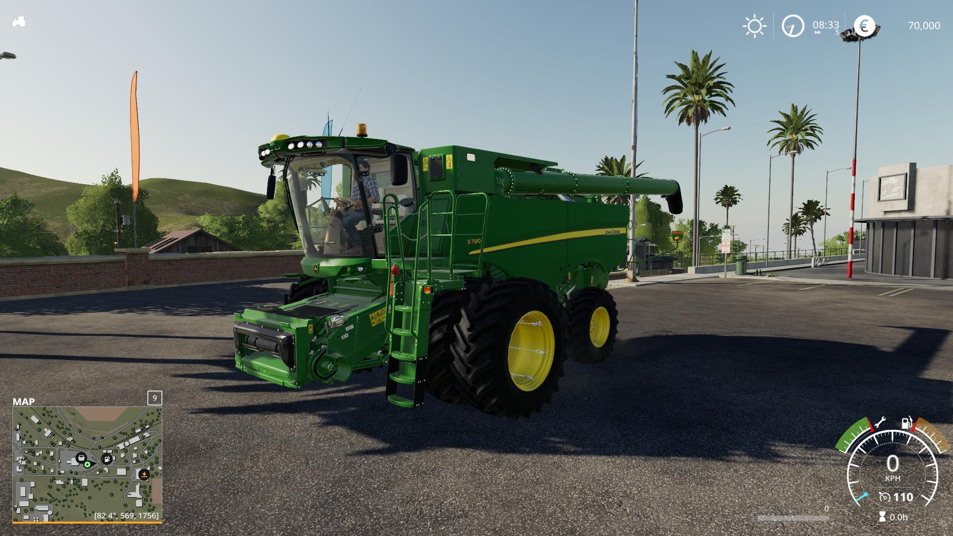 FS19 John Deere S790 & 645FD header V1 0 - Farming Simulator