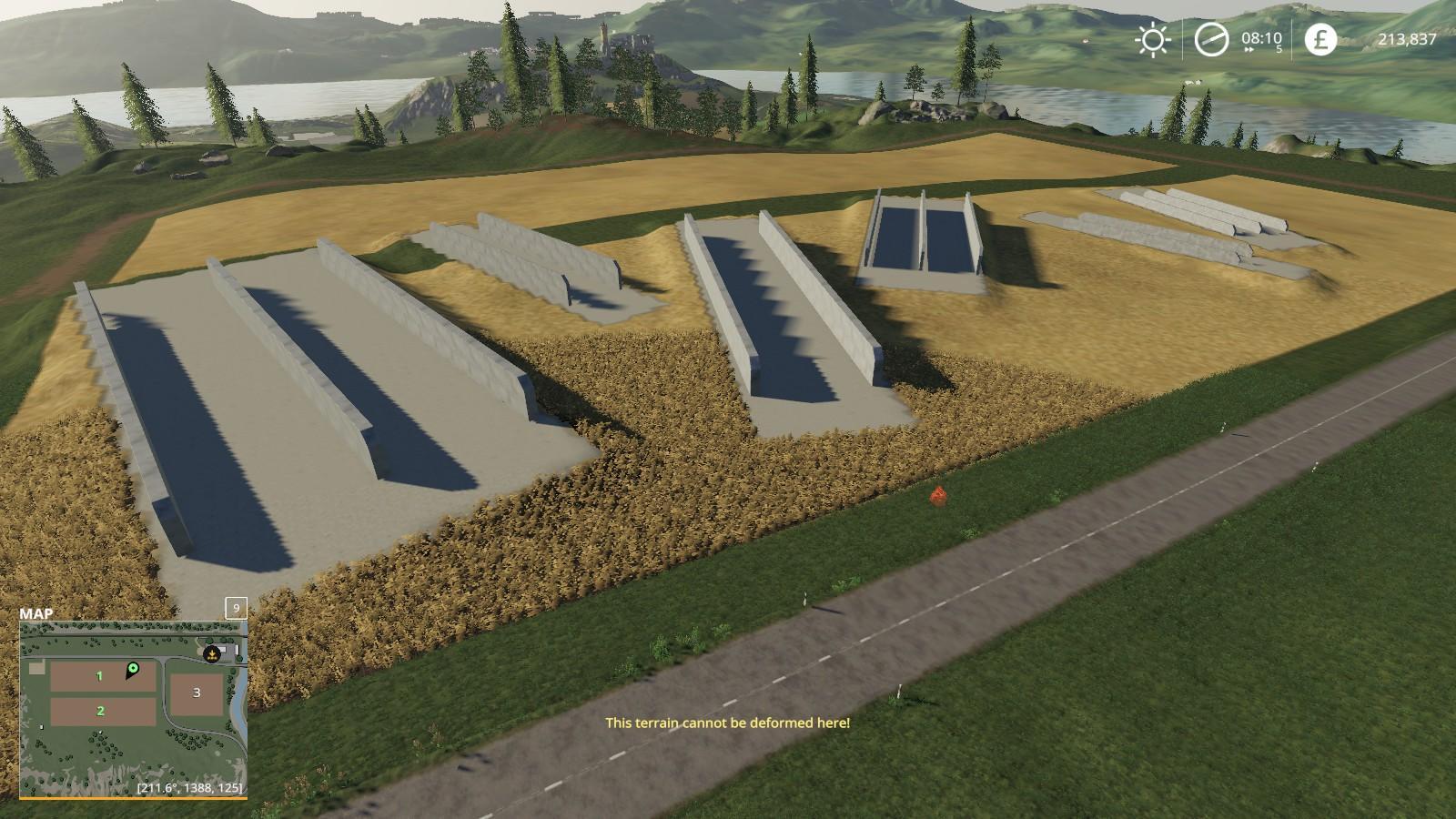 FS19 Bunker Silos 360 v1 0 0 0 - Farming Simulator 17 mod