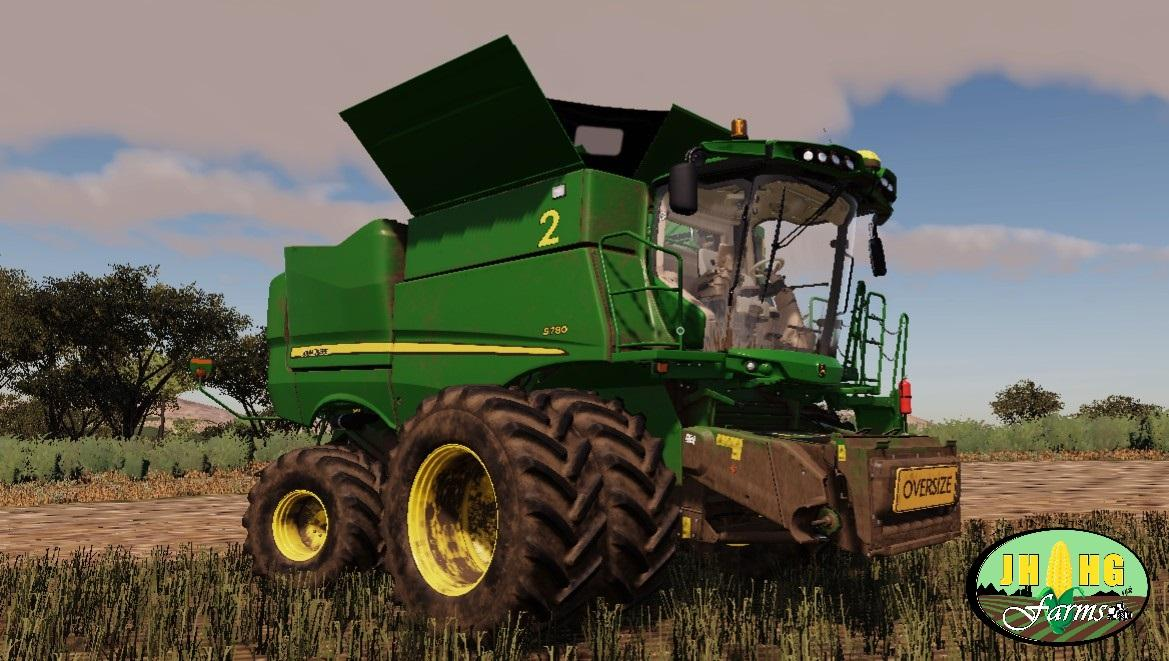 FS19 JOHN DEERE S700 USA / AUSSIE V4 0 - Farming Simulator
