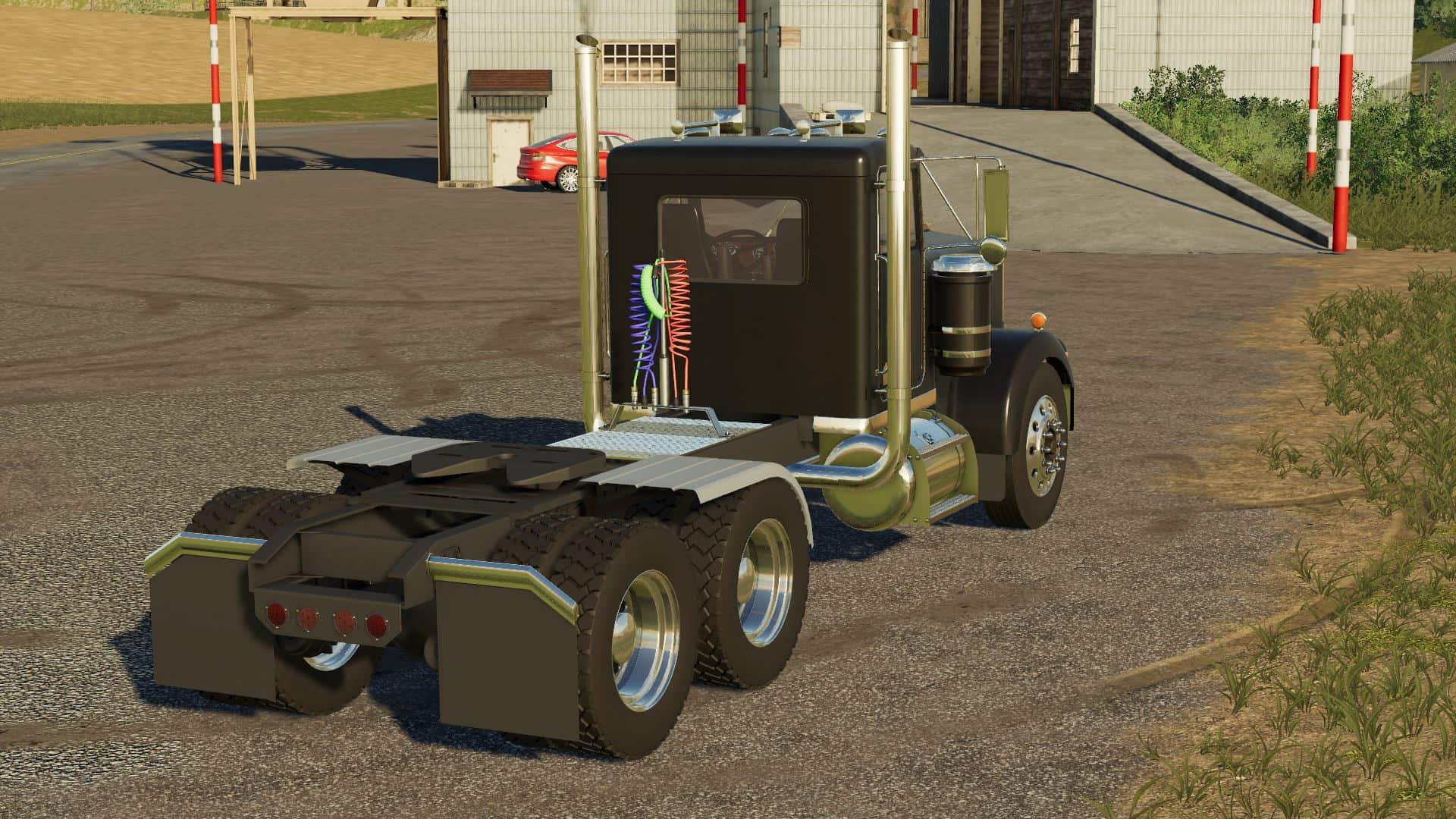FS19 Kenworth W900a Truck - Farming Simulator 17 mod / FS